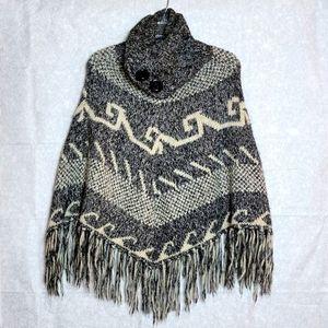 Steve Madden Sweater Poncho